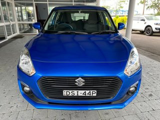 2017 Suzuki Swift AL GL Navigator Speedy Blue Constant Variable Hatchback.
