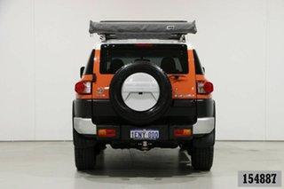 2013 Toyota FJ Cruiser GSJ15R MY13 Update Orange 5 Speed Automatic Wagon