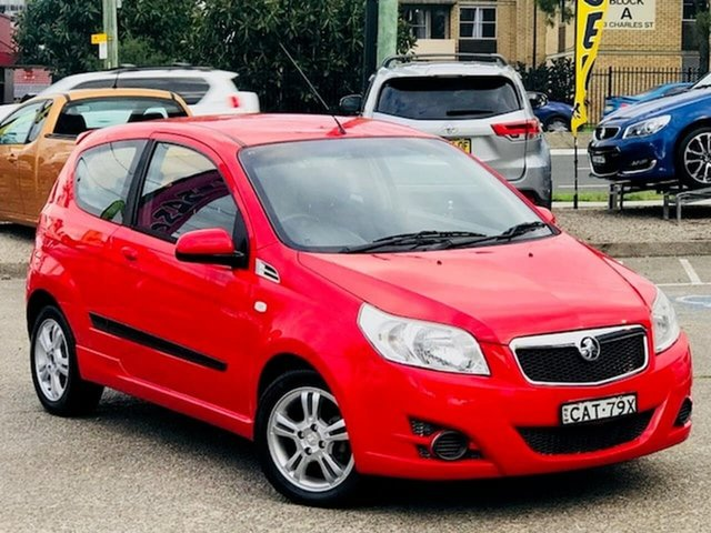 Used Holden Barina TK MY10 Liverpool, 2010 Holden Barina TK MY10 Red 5 Speed Manual Hatchback