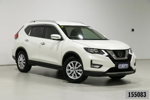 Used Nissan X-Trail T32 Series 2 ST-L 7 Seat (2WD) Bentley, 2018 Nissan X-Trail T32 Series 2 ST-L 7 Seat (2WD) White Continuous Variable Wagon