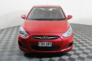 2013 Hyundai Accent RB2 Active Red 4 Speed Sports Automatic Hatchback