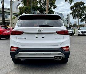 2020 Hyundai Santa Fe TM.2 MY20 Active X White Cream 8 Speed Sports Automatic Wagon