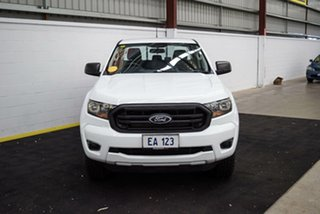 2018 Ford Ranger PX MkIII MY19 XL 2.2 Hi-Rider (4x2) White 6 Speed Automatic Double Cab Chassis.