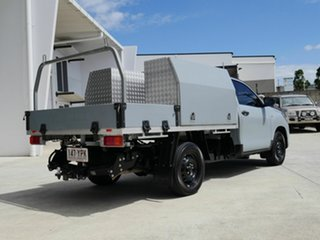 2018 Toyota Hilux GUN122R Workmate 4x2 Black 5 Speed Manual Cab Chassis