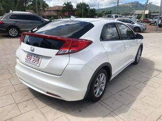 2012 Honda Civic 9th Gen VTi-S White 6 Speed Manual Hatchback