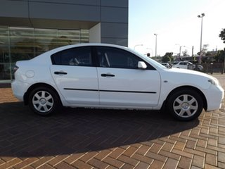 2006 Mazda 3 BK10F2 Neo White 4 Speed Sports Automatic Sedan.