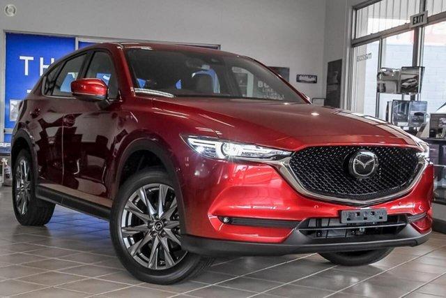 New Mazda CX-5 KF4WLA Akera SKYACTIV-Drive i-ACTIV AWD Waitara, 2020 Mazda CX-5 KF4WLA Akera SKYACTIV-Drive i-ACTIV AWD Red 6 Speed Sports Automatic Wagon