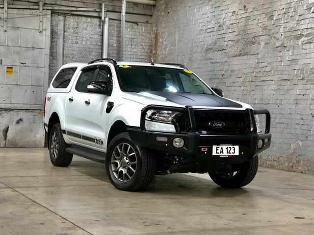 Used Ford Ranger PX MkII FX4 Double Cab Mile End South, 2017 Ford Ranger PX MkII FX4 Double Cab White 6 Speed Sports Automatic Utility