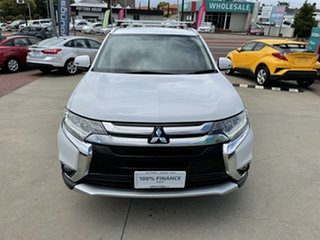 2016 Mitsubishi Outlander ZK MY16 XLS (4x2) White Continuous Variable Wagon.