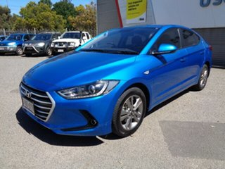 2018 Hyundai Elantra AD MY18 Active Blue 6 Speed Sports Automatic Sedan