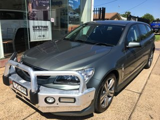 2013 Holden Commodore VF SV6 Grey Sports Automatic.