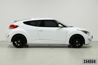 2013 Hyundai Veloster FS MY13 White 6 Speed Manual Coupe