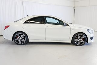 2016 Mercedes-Benz CLA-Class C117 806MY CLA250 DCT 4MATIC Sport White 7 Speed.