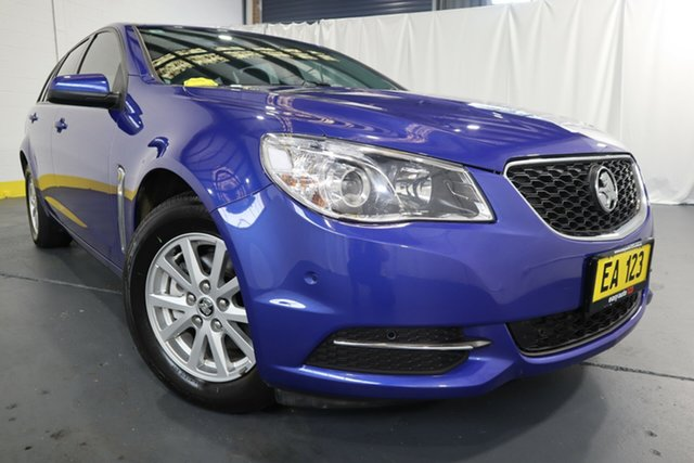 Used Holden Commodore VF II MY16 Evoke Sportwagon Castle Hill, 2016 Holden Commodore VF II MY16 Evoke Sportwagon Blue 6 Speed Sports Automatic Wagon
