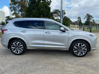 2020 Hyundai Santa Fe TM.V3 Highlander Silver Sports Automatic Dual Clutch Wagon.