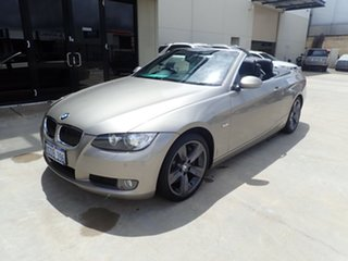 2008 BMW 335i E93 MY09 Bronze Metallic 7 Speed Auto Direct Shift Convertible.