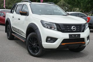 2019 Nissan Navara D23 S4 MY20 ST-X White 7 Speed Sports Automatic Utility.