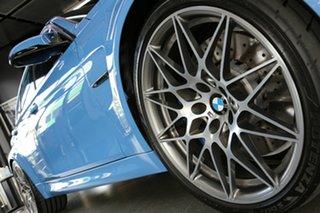 2017 BMW M3 F80 LCI Competition M-DCT Blue 7 Speed Sports Automatic Dual Clutch Sedan