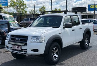 2008 Ford Ranger PJ XL Hi-Rider White 5 Speed Automatic Utility.