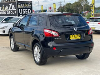 2013 Nissan Dualis ST Black Manual Hatchback