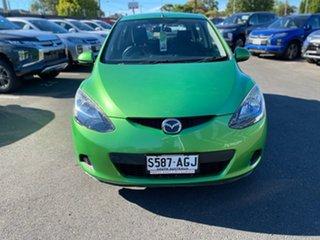 2010 Mazda 2 DE10Y1 Maxx Green 4 Speed Automatic Hatchback.