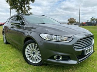 2017 Ford Mondeo MD 2017.00MY Trend Grey 6 Speed Sports Automatic Dual Clutch Wagon.