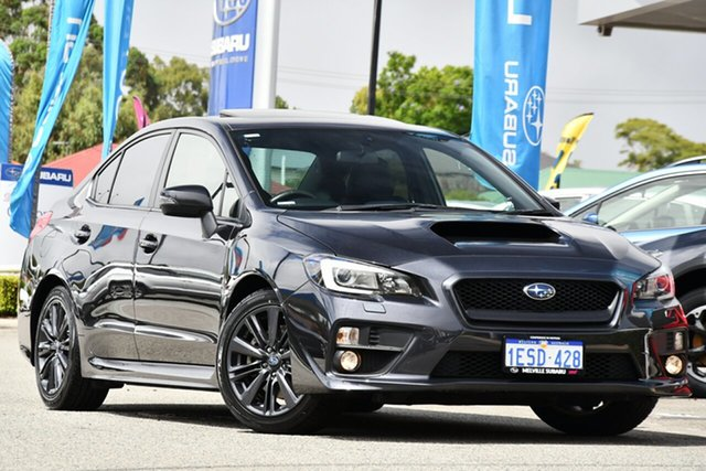 Used Subaru WRX V1 MY15 Premium AWD Melville, 2015 Subaru WRX V1 MY15 Premium AWD Dark Grey 6 Speed Manual Sedan