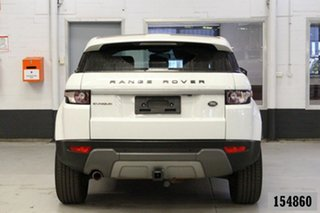 2014 Land Rover Evoque LV MY14 TD4 Pure White 9 Speed Automatic Wagon