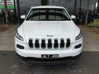 2015 Jeep Cherokee KL MY16 Longitude (4x4) White 9 Speed Automatic Wagon.
