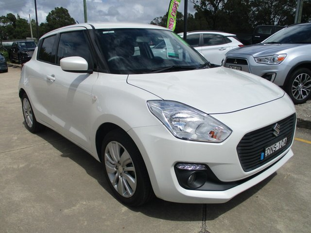 Used Suzuki Swift FZ MY15 GL Navigator Glendale, 2017 Suzuki Swift FZ MY15 GL Navigator White 4 Speed Automatic Hatchback