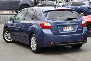2013 Subaru Impreza G4 MY13 2.0i-L Lineartronic AWD Marine Blue 6 Speed Constant Variable Hatchback