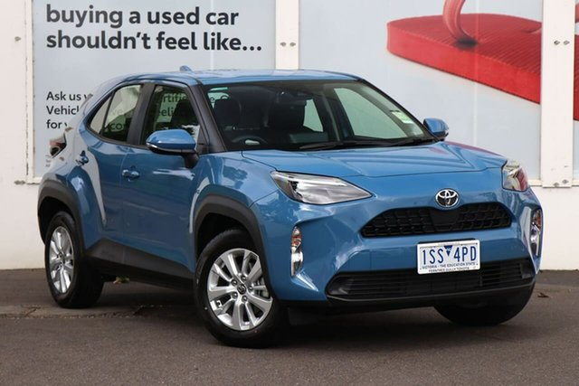 Pre-Owned Toyota Yaris Cross MXPB10R GX 2WD Ferntree Gully, 2020 Toyota Yaris Cross MXPB10R GX 2WD Mineral Blue 10 Speed Constant Variable Wagon