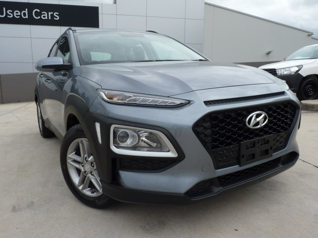 Pre-Owned Hyundai Kona OS MY18 Active 2WD Blacktown, 2018 Hyundai Kona OS MY18 Active 2WD Lake Silver 6 Speed Sports Automatic Wagon