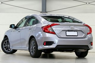 2020 Honda Civic 10th Gen MY20 VTi-S Lunar Silver 1 Speed Constant Variable Sedan.