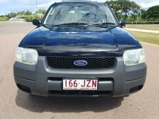 2005 Ford Escape ZB XLS Black 4 Speed Automatic SUV.