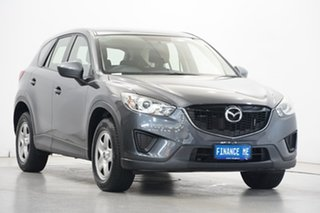 2014 Mazda CX-5 KE1071 MY14 Maxx SKYACTIV-Drive Grey 6 Speed Sports Automatic Wagon.