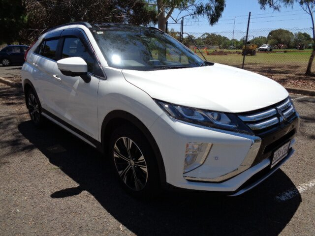 Used Mitsubishi Eclipse Cross YA MY18 Exceed 2WD Elizabeth, 2017 Mitsubishi Eclipse Cross YA MY18 Exceed 2WD White 8 Speed Constant Variable Wagon