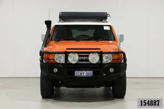 2013 Toyota FJ Cruiser GSJ15R MY13 Update Orange 5 Speed Automatic Wagon.