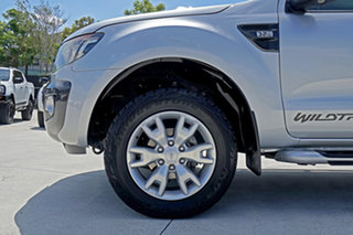2014 Ford Ranger PX Wildtrak Double Cab Highlight Silver 6 Speed Sports Automatic Utility