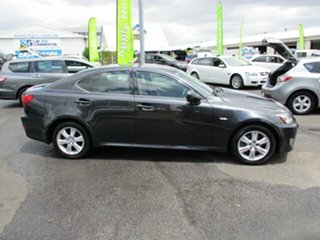 2008 Lexus IS250 Grey 4 Speed Automatic Sedan.