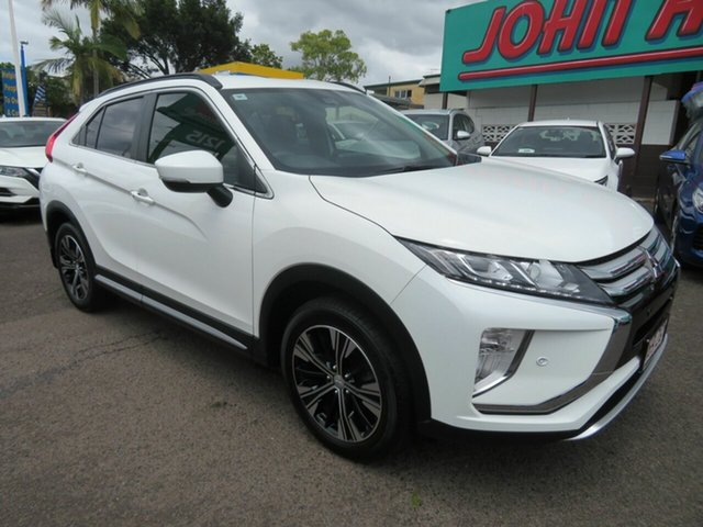 Used Mitsubishi Eclipse Cross YA MY18 LS 2WD Mount Gravatt, 2018 Mitsubishi Eclipse Cross YA MY18 LS 2WD White 8 Speed Constant Variable Wagon