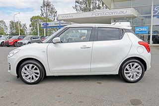 2020 Suzuki Swift AZ Series II GL Navigator Pure White Pearl 5 Speed Manual Hatchback