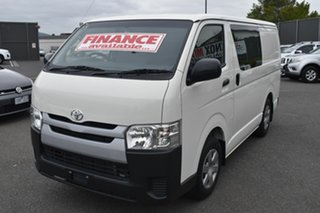 2018 Toyota HiAce TRH201R LWB White 6 Speed Automatic Van