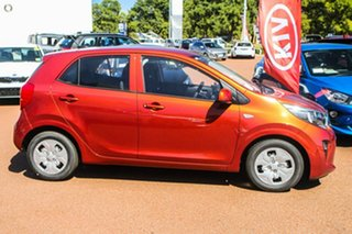 2020 Kia Picanto JA MY21 S Orange 4 Speed Automatic Hatchback