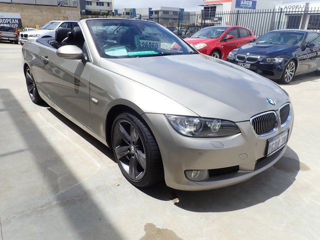 Used BMW 335i E93 MY09 Wangara, 2008 BMW 335i E93 MY09 Bronze Metallic 7 Speed Auto Direct Shift Convertible