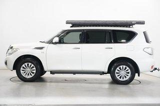 2019 Nissan Patrol Y62 Series 4 TI White 7 Speed Sports Automatic Wagon.