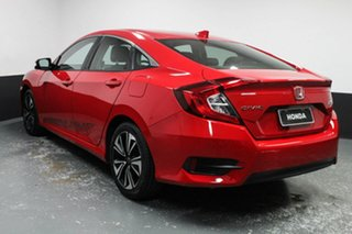 2016 Honda Civic 10th Gen MY16 VTi-LX Red 1 Speed Constant Variable Sedan