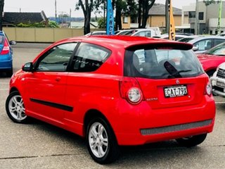 2010 Holden Barina TK MY10 Red 5 Speed Manual Hatchback.