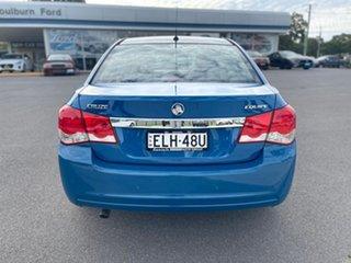 2013 Holden Cruze JH MY14 Equipe Blue 6 Speed Sports Automatic Sedan.