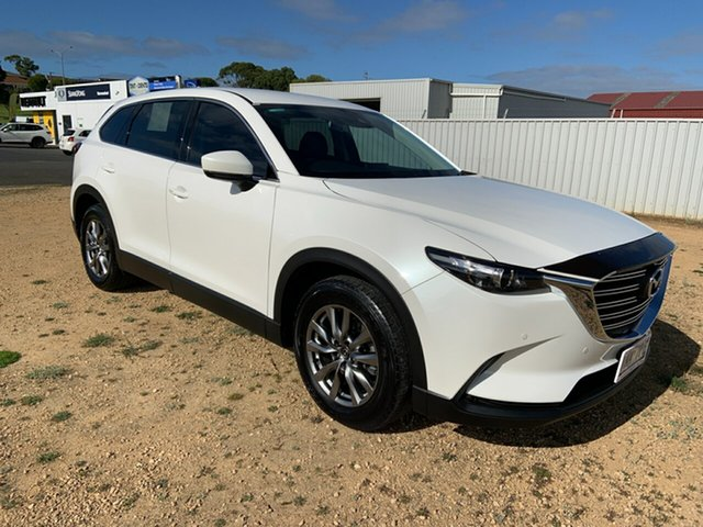 Used Mazda CX-9 TC Touring SKYACTIV-Drive Warrnambool East, 2018 Mazda CX-9 TC Touring SKYACTIV-Drive White 6 Speed Sports Automatic Wagon